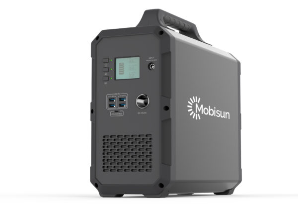 Mobisun Portable Solar Generator 1000W 1500Wh 230V output power camping outdoor UPS side 2