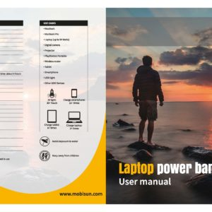 Manual laptop powerbank 1