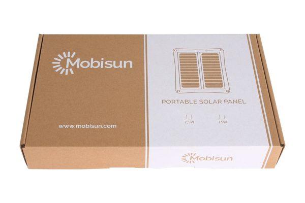 15W USB zonnepaneel doos Mobisun