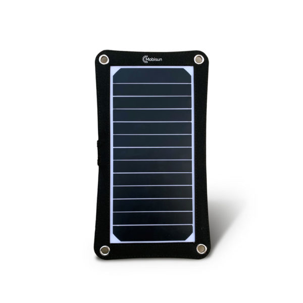 Mobisun lightweight 7,5W portable USB solar panel with stand