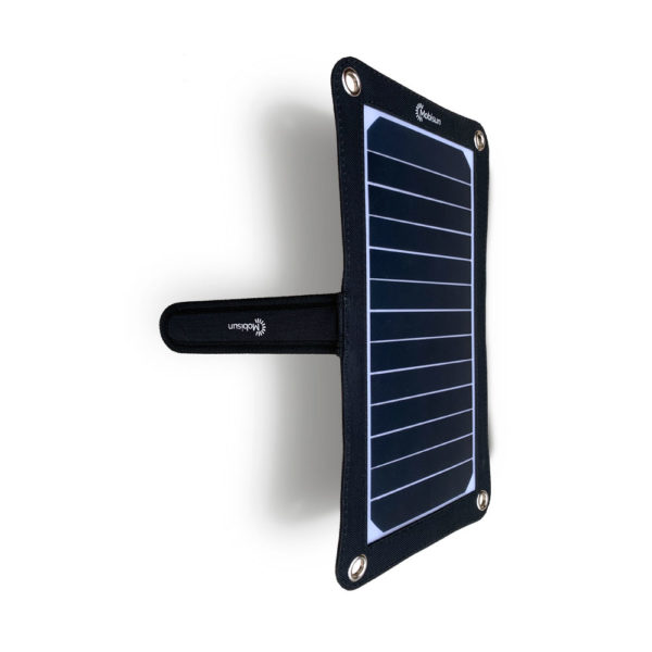 Mobisun lightweight 7,5W portable USB solar panel stand