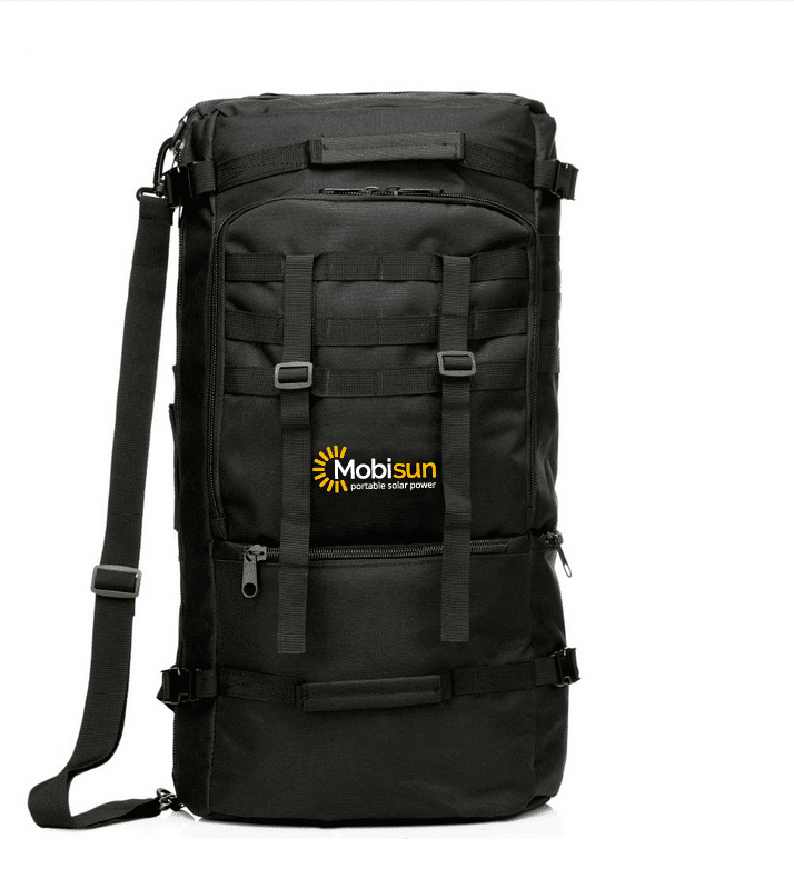 Mobisun 60l 60 Liter Backpack Bag Black Military