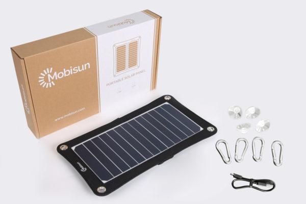 Mobisun-USB-zonnepaneel-verpakking-en-accesoires-1 accessories