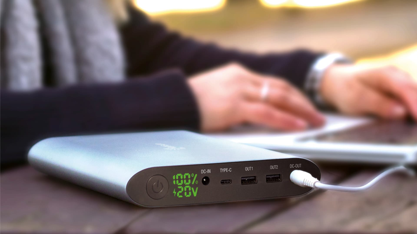 40000 Mah Laptop Power Bank Mobisun Altijd En Overal Je