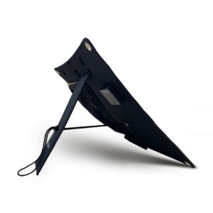 Mobisun lightweight 15W portable USB solar panel back side