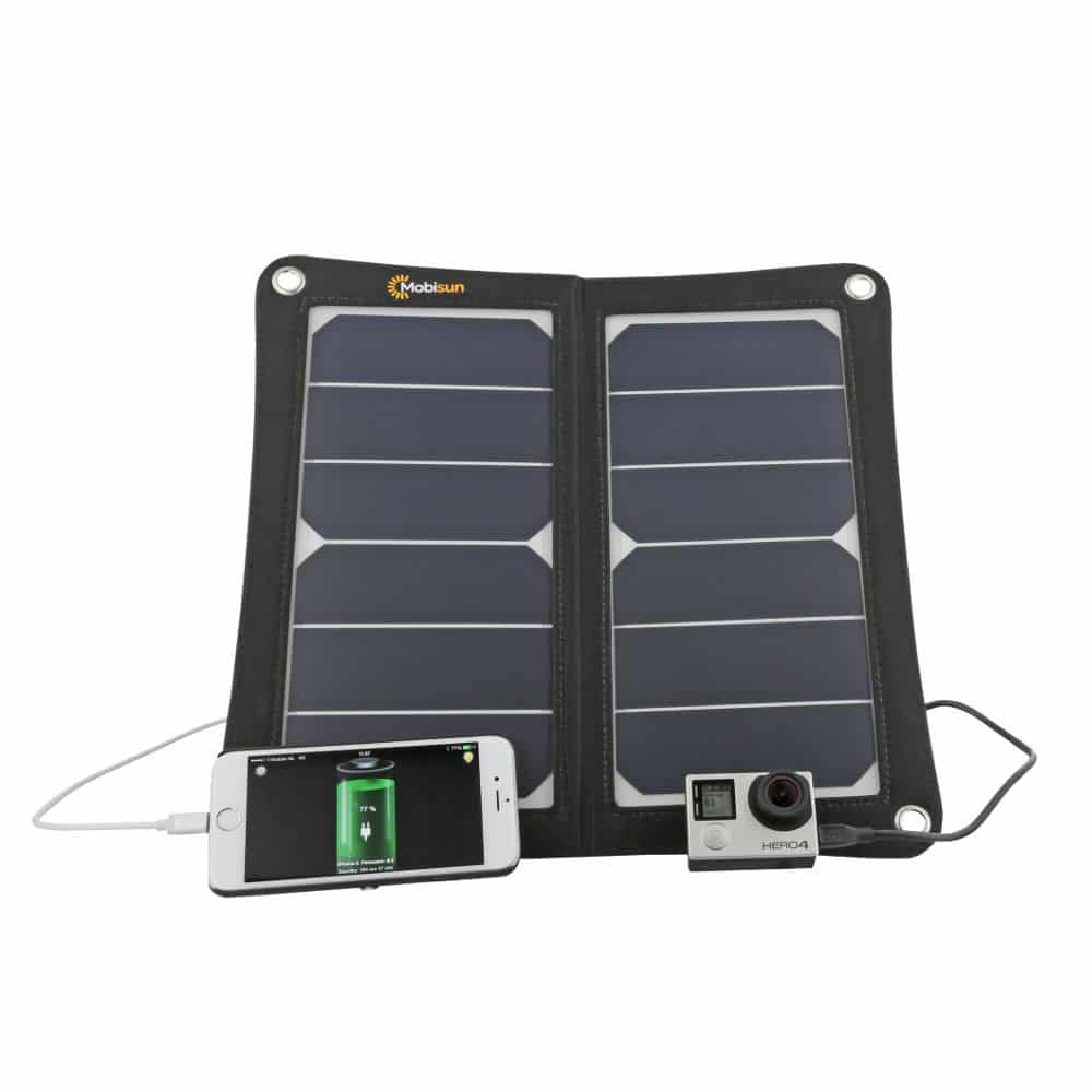 portable usb solar panel 13w 5v 2 1a mobisun. Black Bedroom Furniture Sets. Home Design Ideas
