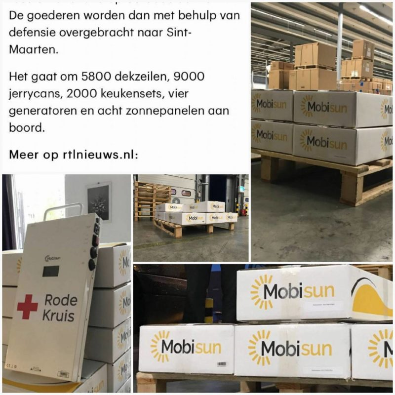 Mobisun Pro mobiel stopcontact zonne energie draagbare stroom aid relief solar panels