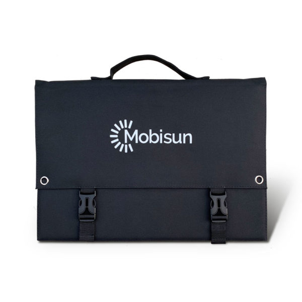 60W Mobisun portable solar panel back (2)