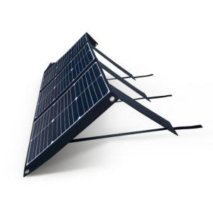 60W Mobisun portable solar panel side folded out 2